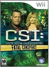 New Ubisoft Csi: Crime Scene Investigation: Fatal Conspiracy Action/Adventure Game Standard Wii