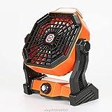 Ventilador De Camping Recargable USB, Batería De 5200mah, Ventilador Personal Alimentado En Silencio, Es Adecuado para Al Aire Libre, Hogar, Escritorio