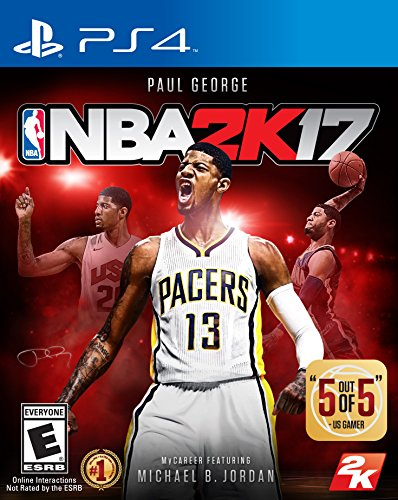 Take-Two Interactive NBA 2K17 PS4 Básico PlayStation 4 Inglés vídeo - Juego (PlayStation 4, Deportes, Modo multijugador, E (para todos))