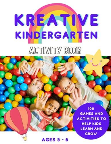 Kreative Kindergarten Activity Book