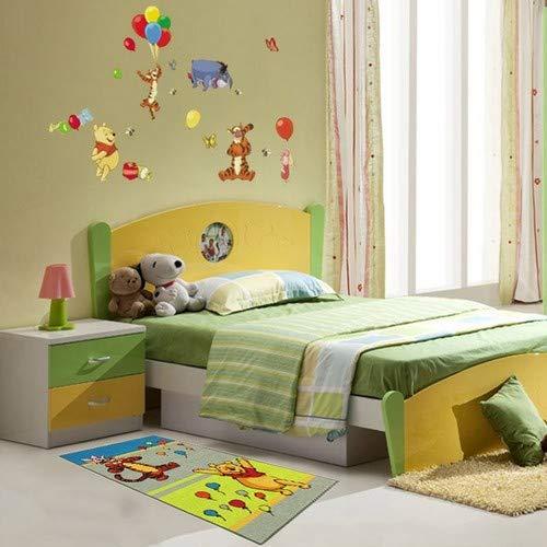 Disney Winnie The Pooh Carpet & Amigos (140x80cm) Multi - Niños - Estilo: Kids - Monbeautapis