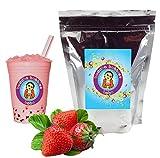 Buddha Bubbles Boba Strawberry Cream Powder