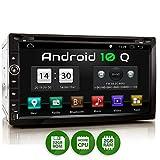 XOMAX XM-2DA758 Radio de Coche con Android 10 I Quad Core, 2GB RAM, 32GB ROM I GPS I Soporte WiFi, 3G, 4G, Dab+, OBD2 I Bluetooth I 6,9' Pantalla Táctil I DVD, CD, USB, SD, RDS I 2 DIN
