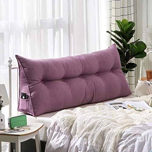 Cojines cabecero, Cojín De Lectura Bolster Triangular almohadilla grande, Cabecera cojín for Sofá cama tapizado Cojines doble Tatami almohada, (100 * 23 * 50 cm, 120 * 23 * 50 cm, 150 * 23 * 50 cm)