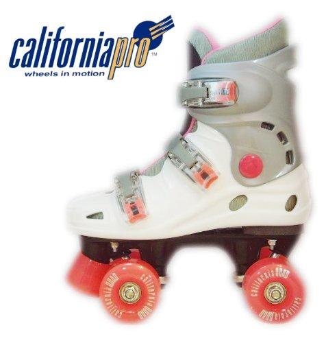 Ventronic California Pro &rose pour Enfant-Patins à roulettes, 4 uk Divers