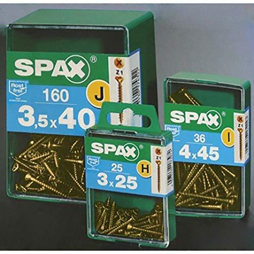 SPAX L - Tirafondo Bicromatado Cp Spax L 5X60 Mm