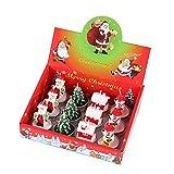 Buhui Juego de velas navideñas de Papá Noel, velas de árbol de Navidad, muñeco de nieve, velas de pino con cono de pino para casa, fiestas, Halloween, Navidad, bodas, vacaciones