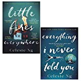 Celeste Ng Collection 2 Books Set (Everything I Never Told You, Little Fires Everywhere)