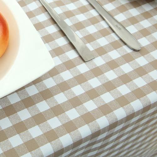XXDD Mantel Impermeable, Anti-Quemaduras, a Prueba de Aceite, Mantel para Mesa de Centro, Mantel Rojo Lavable, A14 135x135cm