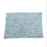 Kaikai Baño de Chenilla Alfombras Alfombra de baño Set de Baño Bañera Ducha Alfombra Alfombra Mats Aseo Lavar a Maquina no Slip (Tamaño: 51cmx81cm) (Size : 51cmx81cm)