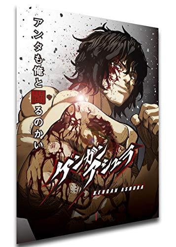 Instabuy Poster - Playbill - Anime - Kengan Ashura A3 42x30
