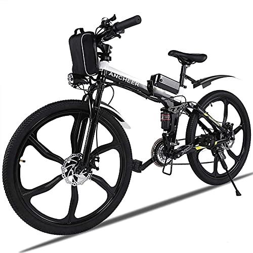 Vélo de Montagne électrique ANCHEER, vélos pliants électriqu