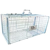 丸十金網 猫の保護器