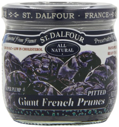 St Dalfour Semi Dried Pitt Prunes 200 g (Pack of 6)