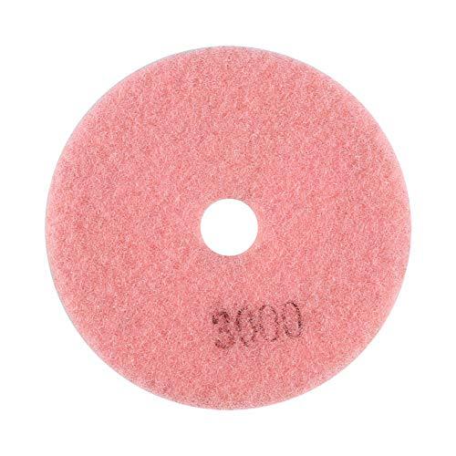 Disco de pulido, 100 mm Almohadilla de pulido de 4'Fuerza de pulido fuerte para piedra de mármol de granito(3000)
