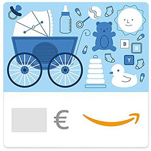 Digitaler Amazon.de Gutschein (Baby Icons (Blau))