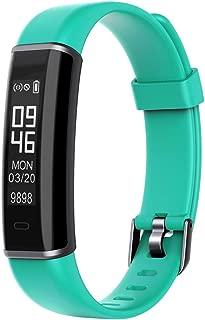 WTYD Smartwear ID130 Fitness Tracker 0.87 inch OLED Screen Smartband Smart Bracelet, IP67 Waterproof, Support Sports Mode/Sleep Monitor/Remote Camera/Information Reminder (Black)