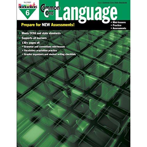 Newmark Learning Grade 6 Common Core Practice Language Book (CC Language)
