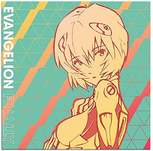 Evangelion Finally (Original Soundtrack) (Blue Rei-nbow SplatteredVinyl)