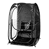 Under the Weather MyPod XL - Pop-Up Weather Pod, Protection from Cold, Wind and Rain - Black