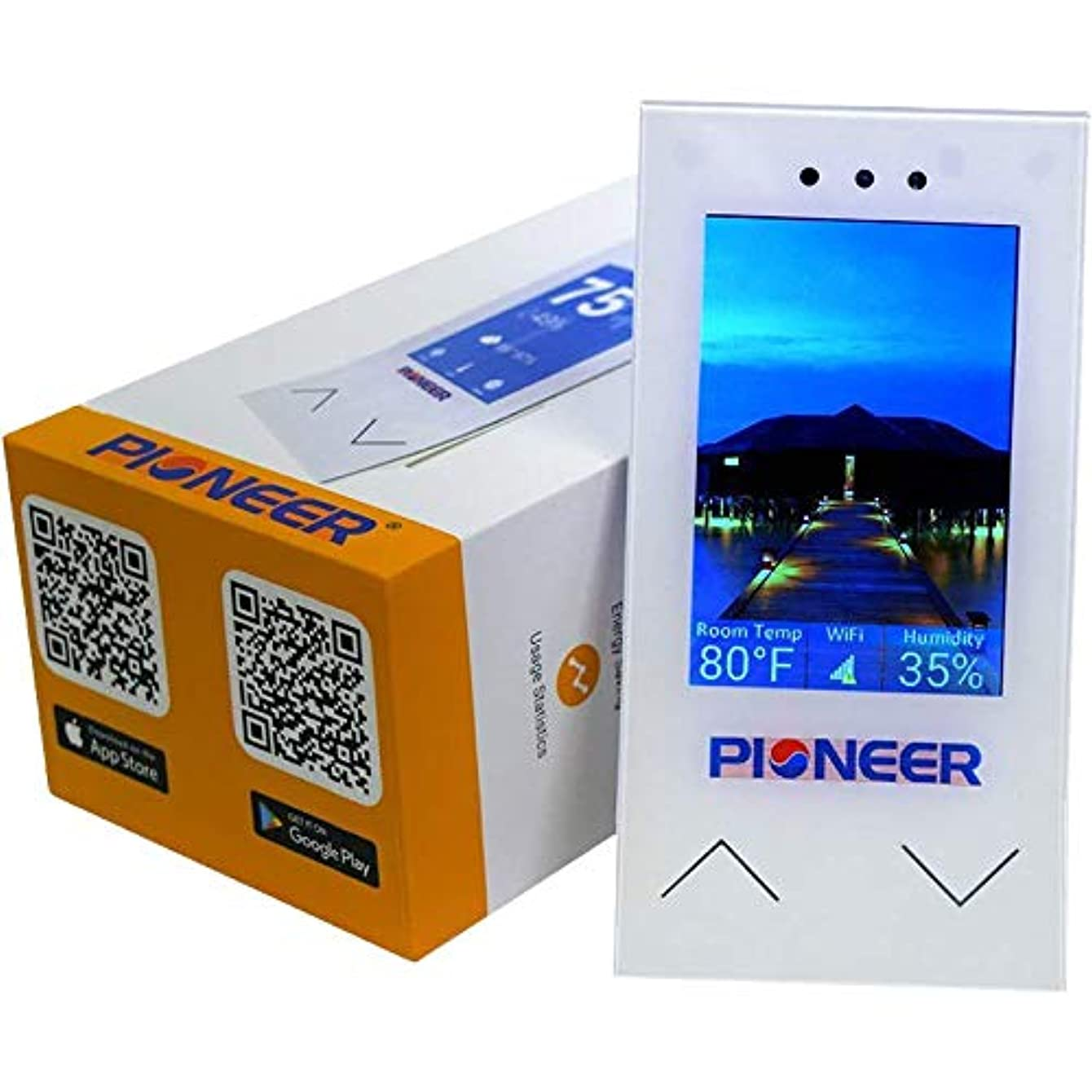 Pioneer Smart Controller for Air Conditioners, Wireless Internet Worldwide Access, Program, Control Module