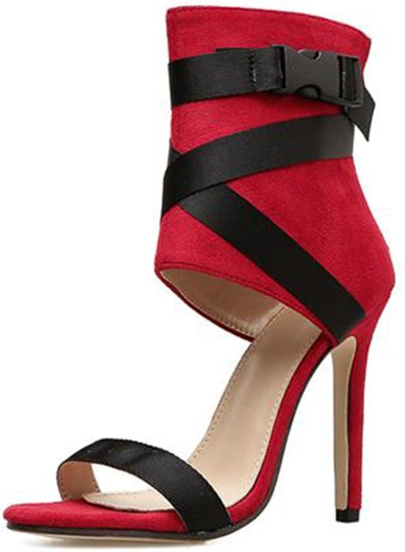 Hanglin Trade Heeled Sandals for Women shoes Stiletto Heels Dress Party Wedding Sandals Dress Sandals