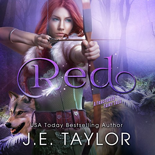 Red: A Fractured Fairy Tale audiobook cover art