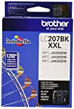 Brother Printer LC207BK Super High Yield Ink Cartridge, Black