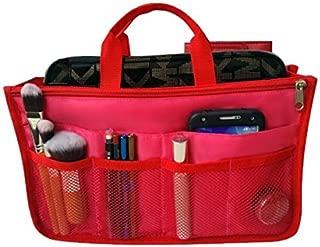 Handbag Organizer, Liner, Sturdy Nylon Purse Insert 13 Pockets XL