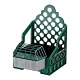 COPELE 70672 Soporte Plástico Jaula Reclamo Perdices, Verde, 26 x 34 x 39 cm