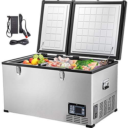 VEVOR Car Freezer,105 Quart Portable Chest...
