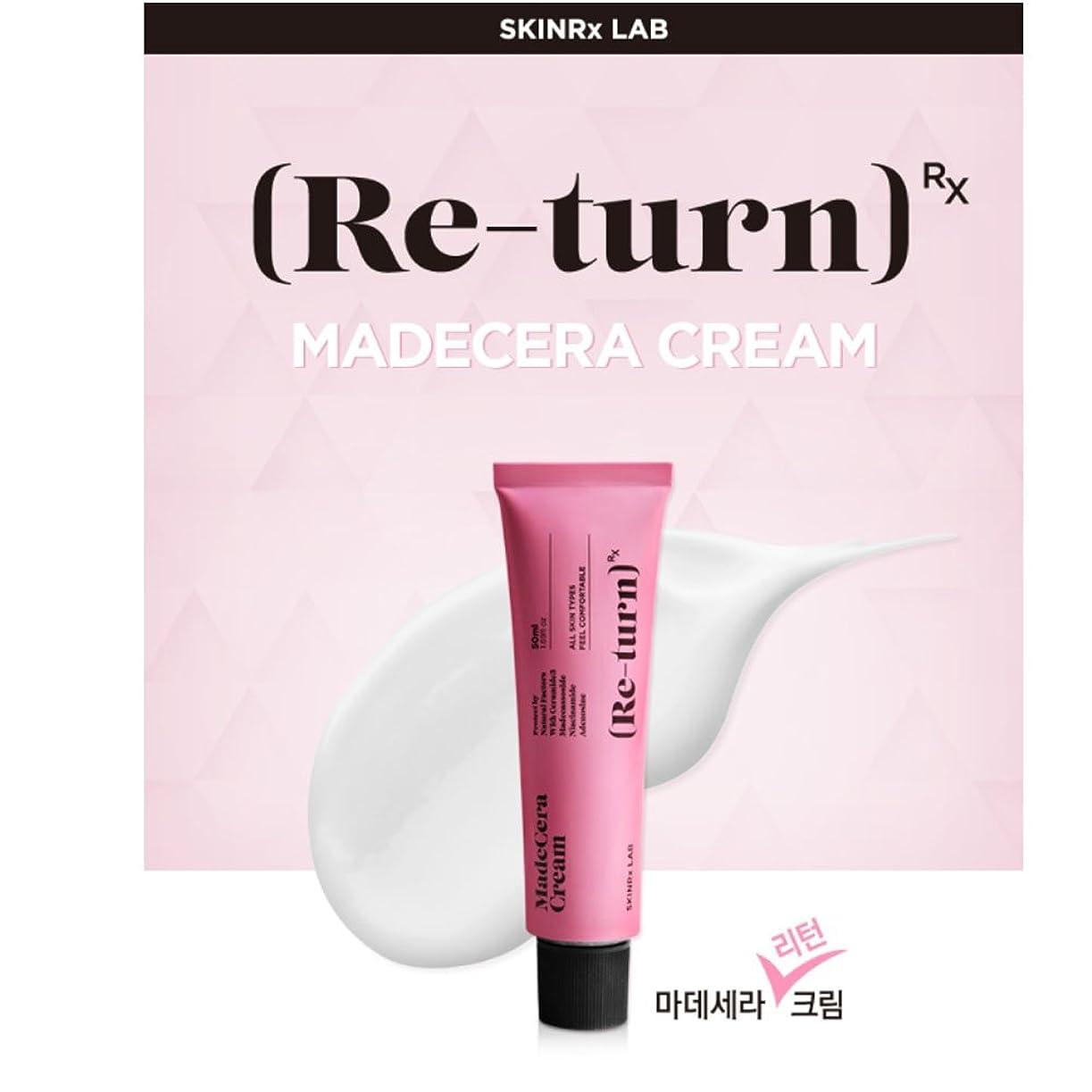浸食故意に疲労スキンアルエクスラップ マデセラ リターン クリーム 50ml / SKINRxLAB MadeCera Re-turn Cream 50ml (1.69oz)