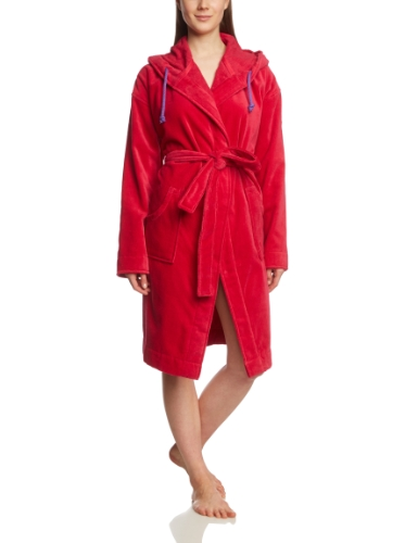 PUMA Damen Bademantel Foundation Bathrobe, Barberry, XL