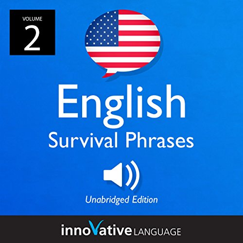 Learn English: English Survival Phrases, Volume 2 cover art
