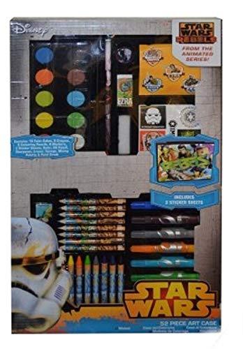 Star Wars 52 Piece Set Papeterie Art pour Enfants