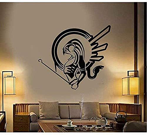 Wandaufkleber Ägyptischer Sonnengott Wasserdichtes Tapetenpapier Für Tv-Hintergrund Wandbild Aufkleber Wohnkultur Kinderzimmer Kinder Spieler 47X42Cm