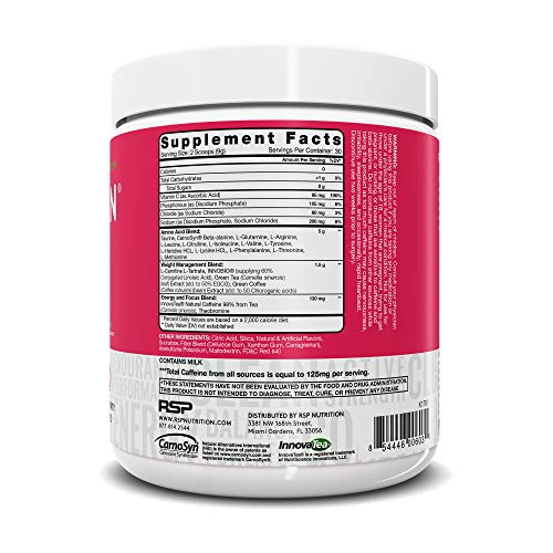 RSP AminoLean - All-in-One Pre Workout, Amino Energy, Weight Management Supplement with Amino Acids, Complete Preworkout Energy for Men & Women, Watermelon, 30 (Packaging May Vary) 2