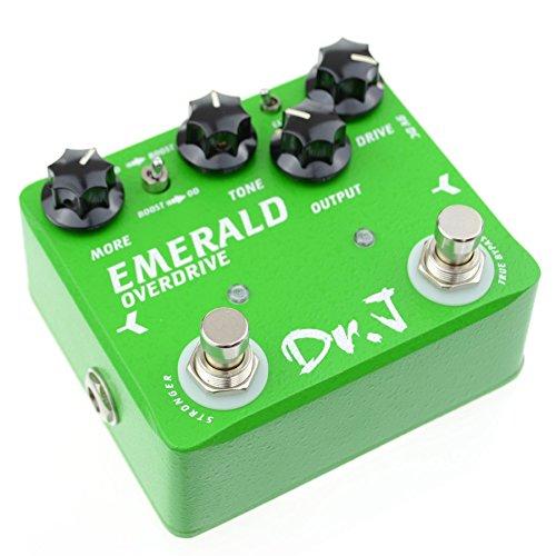 Dr. J Gitaar effectpedaal – reikwijdte shop van Joyo Dr.J D-60 Green Emerald Overdrive