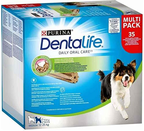 Dentalife – Multipack Palos para masticar Medium para Perro – 805g ✅