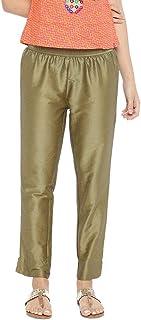 GO COLORS Women's Straight Fit Pants