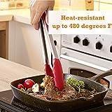 Immagine 2 henshow rosso pinza da barbecue