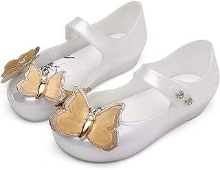 Mini Butterfly Baby Boy Summer Jelly Shoe Girl Non-Slip Kids Toddler Beach Sandals Buckle (Toddler)