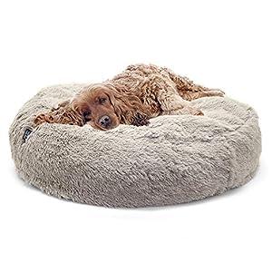 SPORT PET Designs Large Luxury Waterproof Pet Bed – Machine Washable Sofa Bed, CM-0281-CS01