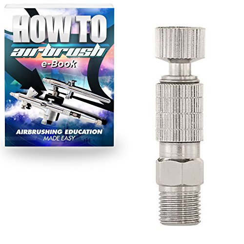 PointZero Airbrush Quick Release (Disconnect) Coupling Set - 1/8 in. BSP