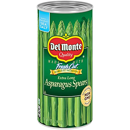 Del Monte Canned Extra Long Asparagus Spears, 15-Ounce (Pack of 12)