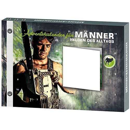 ROTH Männer-Adventskalender 2020 mit Grußkarte und gefüllt mit Gadgets für den Männer-Alltag, Hobby-Handwerker-Kalender für die Vorweihnachtszeit