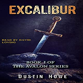 Excalibur: Book I of the Avalon Series audiobook cover art