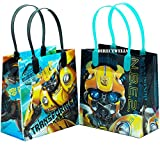 Transformers Bumblebee 12 Small Reusable Good Quality Party Favor Goodie Gift Bags 6'