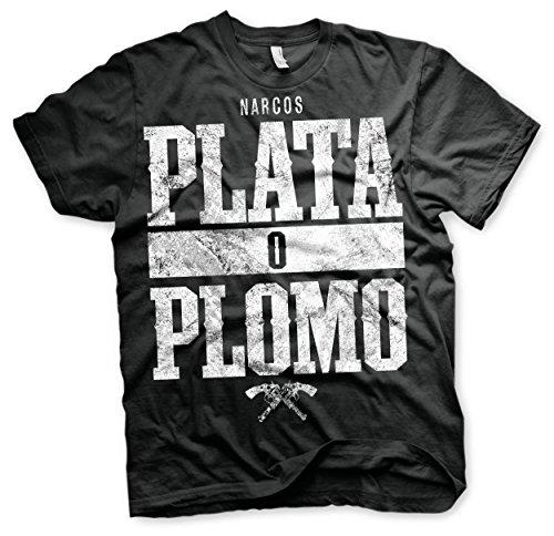 Maglietta Narcos T Shirt Plata O Plomo Size M Other