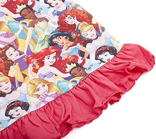 Camicie da notte per bambine a tema personaggi Disney, Re Leone, Aladdin, Cenerentola, Paw Patrol, La Sirenetta   Prodotto Ufficiale per bambini, abbigliamento da notte Principessa 9-10 Anni